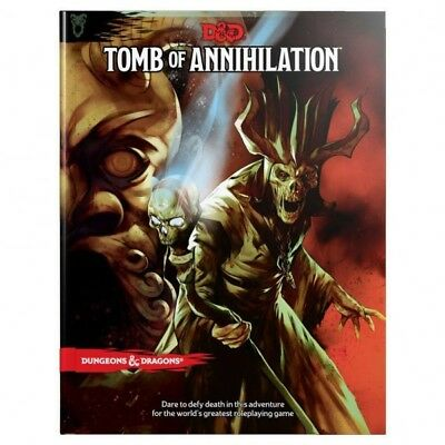 Dungeons & Dragons Rpg Adventure Tomb Of Annihilation English [2192673]
