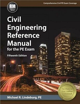Civil Engineering Reference Manual for the PE Exam 15th Edition USB