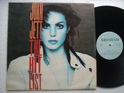 Joan Jett & the Blackhearts - The Hit List- Rare & Ltd edit Zimbabwe LP/ As new
