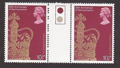 GB 1978 25th Anniversary of the Coronation - Traffic Light Pair 10½p MNH Stamps