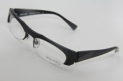 626b295f33f New Alain Mikli Al 0927 0001 Black Authentic Frames Eyeglasses Al0927 53-18