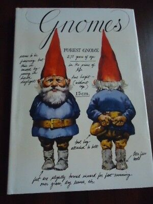 1977  HB BOOK, GNOMES by WIL HUYGEN, ILLUSTRATIONS BY RIEN POORTVLIET