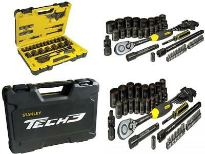 Stanley Tools Tech 3 Socket Set of 61 1/2in Drive