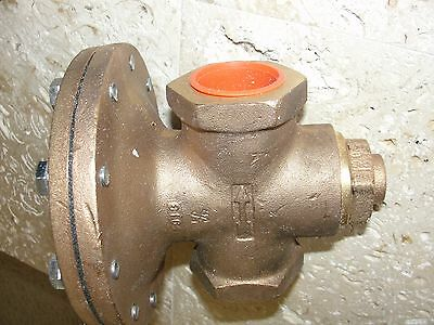 "Cash Acme D-53 Two Position pressure operated diaphragm Control Valve 1.25"" CAVM"