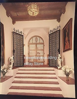 WOOLMAR, Entrance Hall, M/M Woolworth Donahue, Palm Beach, Personally Signed