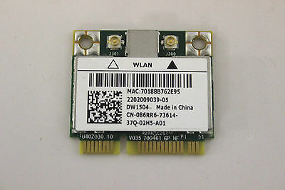 Dell Wireless DW1504 802.11b/g/n WLAN PCIe Half Broadcom BCM94313HMG2L - 86RR6