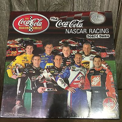 Coca Cola Nascar Racing Board Game 1 st Edition new cello wrap