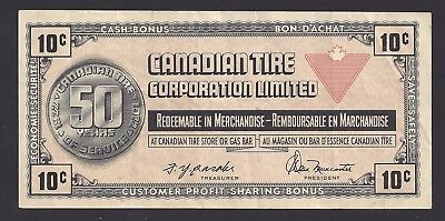 """""""VF"""" Canada Canadian Tire Money 10 Cents """"T1406592"""", #106-3"""