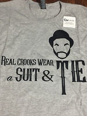 Firefly Loot Cargo Crate Badger Crooks In Ties Shirt XXL 2XL NEW