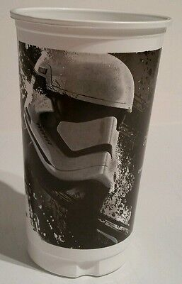 Promotional Star Wars glass cup #1 of 6 First order Stormtrooper new