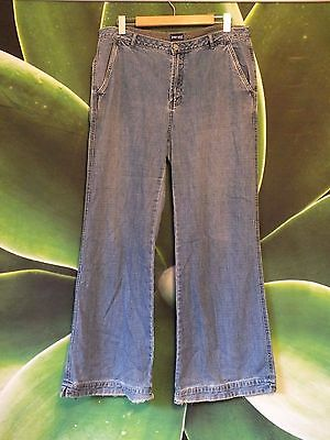 Authentic Vintage Jeans West Denim Flares. Size 16