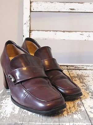 """*Vintage """"winston"""" Leater Shoes by Jane Debster. Size 5*"""