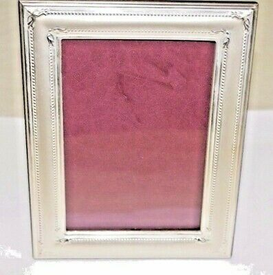 New Hazorfim Sterling-925- Silver vintage Picture-Frame Large-Photo-CLASSIC box