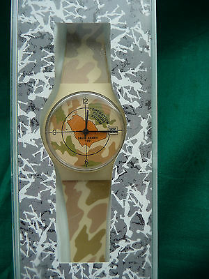 Swatch Watch  Operation Desert Storm Limited Edion Brand New
