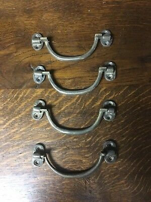 4 Drawer Pulls with swinging bales, Farmhouse Cabinets