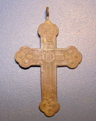 Ancient BRONZE Cross Middle Ages. Оriginal