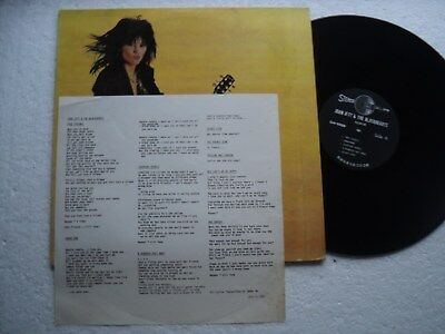 Joan Jett & the Blackhearts - Album - Rare & Ltd edit Taiwan LP + Insert