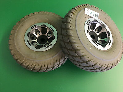 Invacare Pronto Sure Step M51 Wheels & tires  3.00-4 Solid Foam Filled   #A819