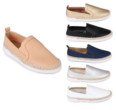 Wanted Women's Hybrid Fashion Slip On Espadrilles Shoes - 6 Colors