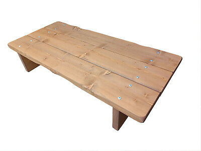 Chunky Coffee Table Solid Pine
