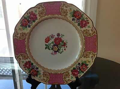 Vintage CROWN DUCAL WARE Dinner Plate Pat. 72944 ENGLAND