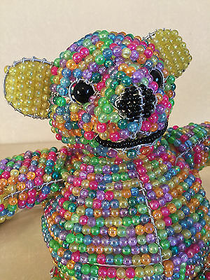 New  BEADWORX  TEDDY BEAR NIGHT LIGHT   MRSP: $59.00  New