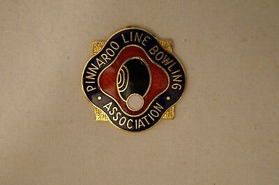 Collectable - Pinnaroo Line - Bowling Association - Members Badge.