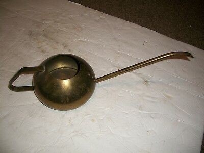 ANTIQUE- VINTAGE Brass Watering can Collectible