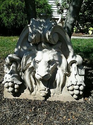 Antique Terra Cotta Lion Facade From A Downtown Building In Cleveland Ohio Sale