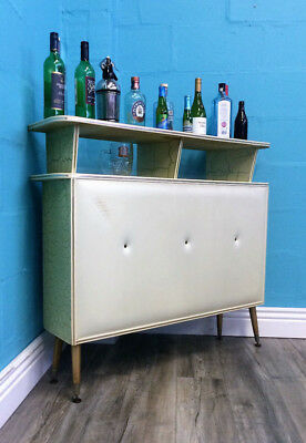 Very Funky Retro Vintage Mid Century 70S Stylish Cocktail Bar Drinks Bar