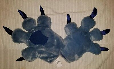 NWT Disney Monsters Inc Sully Costume Gloves with Free Shipping