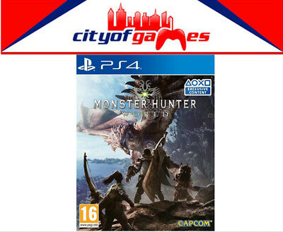 Monster Hunter World PS4 Game New & Sealed Free Express Post In Stock