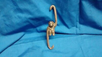 12 Cast Iron MONKEY plant hooks