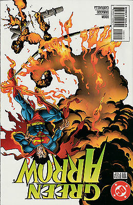 Green Arrow #101 Death of Oliver Queen DC 1995 near mint NM condition