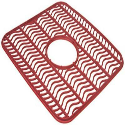 RUBBERMAID RED WAVES Antimicrobial Sink Mat Home Kitchen ...