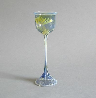 Vera Walther Design Glas Objekt signiert Handarbeit German Art Studio Glass 23cm