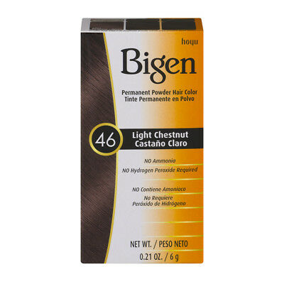 Bigen Permanent Powder Hair Color Light Chestnut 46
