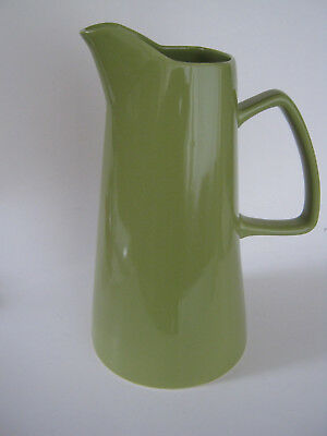 """12"""" Tall/Large Pitcher- """"Lime Rickey"""" Buffalo China by Oneida-Contemporary-Green"""