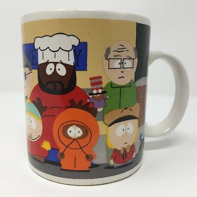 Vintage Classic South Park Coffee Mug 1996 Comedy Central Downpace Season 1 Rare