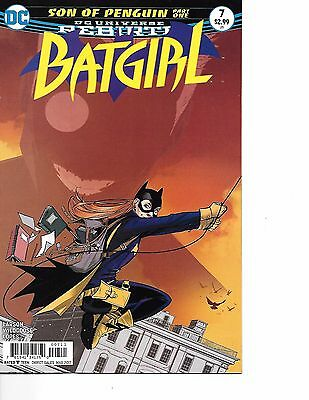 Batgirl #7 DC Rebirth 1st appearance Son Of Penguin 1 NM