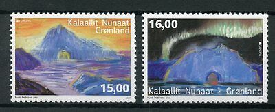 Greenland 2017 MNH Castles Europa 2v Set Architecture Stamps