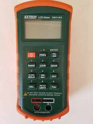 Extech LCR Meter 380193 Used (other).