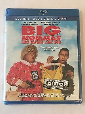 Big Mommas House Like Father Like Son Blu Ray Dvd Digital Copy New Motherload Ed