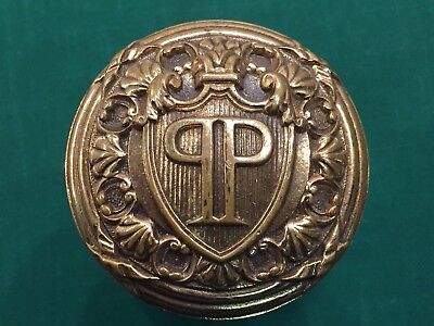 Antique Cast Bronze Plaza Hotel Doorknob - Russell & Erwin