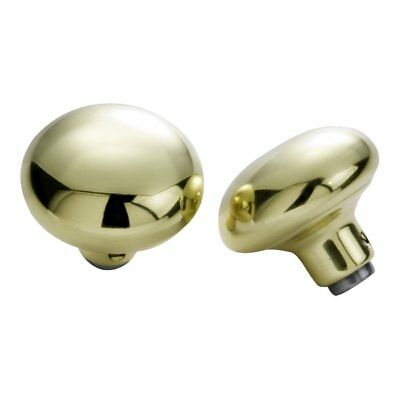 Hickory 1130 Replacement Knobs and Roses Solid Brass Round Passage Door Knob