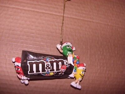 M & M characters Christmas Ornament