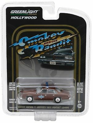 `77 Pontiac LeMans SMOKEY & BANDIT Sheriff Buford T 1977 *** Greenlight 1:64 NEU