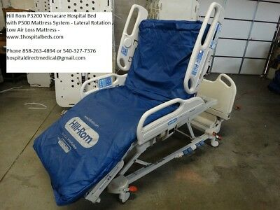 Hill Rom P3200 Versacare Hospital Bed with P500 Mattress System Included