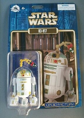 New Disney Parks Star Wars Droid Factory R3-H17 Holiday Edition Astromech