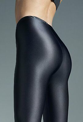 Tights Gatta Black Brillant Glossy Shiny Opaque Pantyhose 120 Denier S-M-L- -XXL